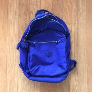 Kipling Seoul Go Laptop Backpack - Bold Purple
